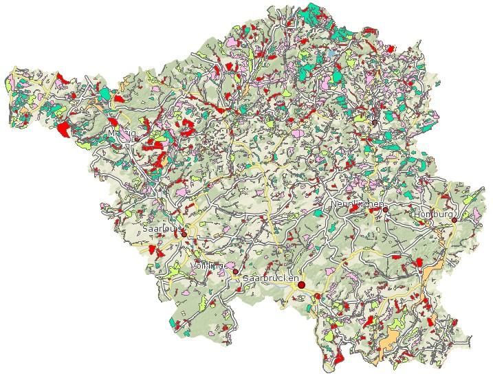 Arten- und Biotopschutzprogramm Saarland ABSP Schutzvorschlag
