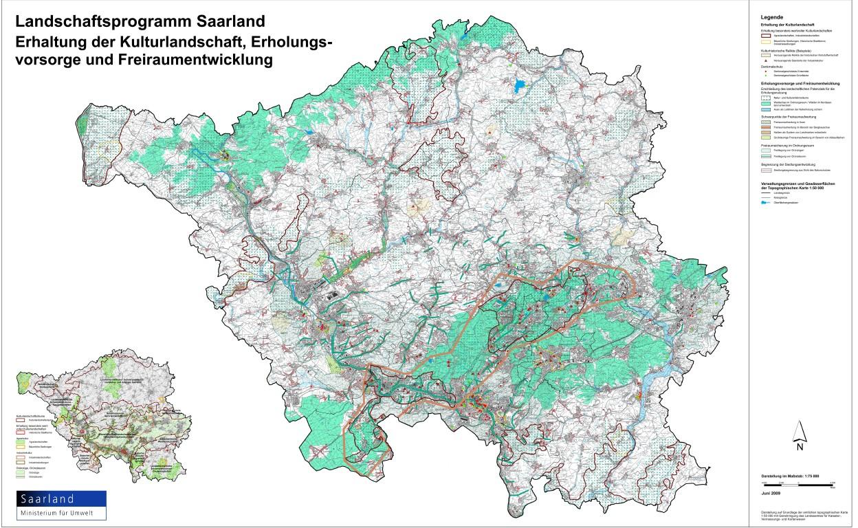 LAPRO2009 - Festlegung von Grünzäsuren