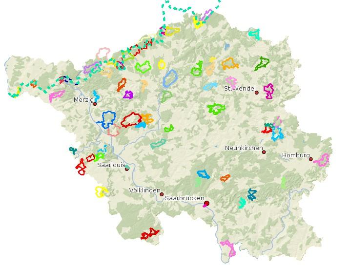 Premiumwanderwege im Saarland