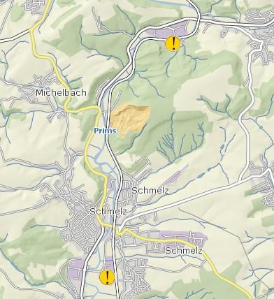 Hochwasserrisiko - IVU-Betriebe des Saarlandes