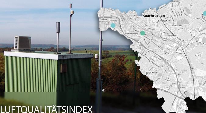 Europäischer Luftqualitätsindex Großregion