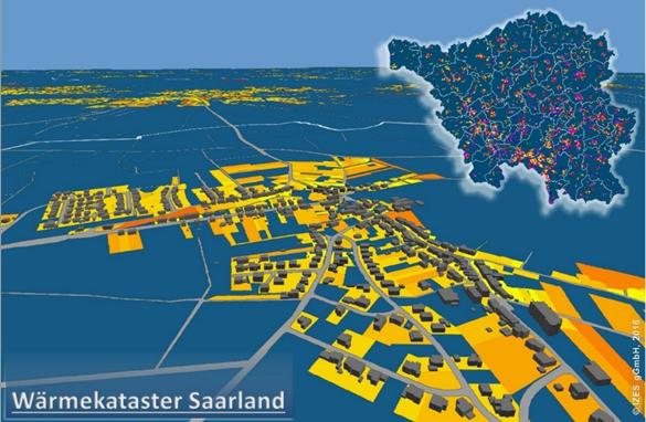 Wärmekataster Saarland